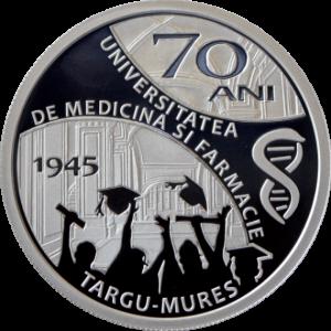 Monedă aniversară UMF 70