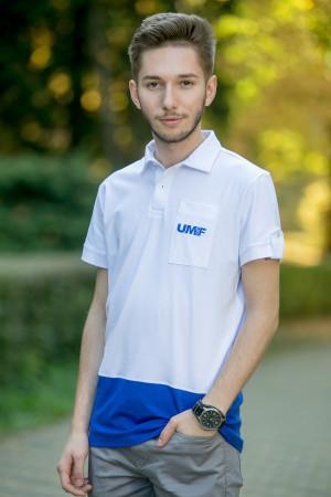 Tricou cu guler (bărbați) UMF Collection by Cătălin Botezatu