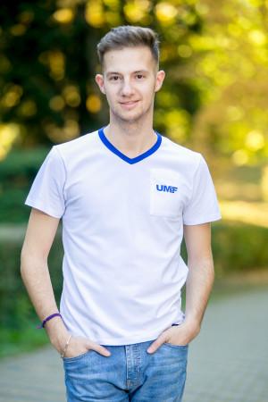 Tricou în V (bărbați) UMF Collection by Cătălin Botezatu