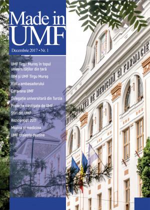 Revista MADE in UMF Nr.1 decembrie 2017